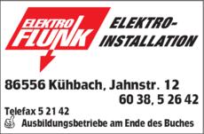 86556 Kühbach elektro flunk in kühbach in das örtliche