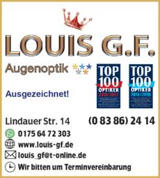 Anzeige Optik Louis G.F.
