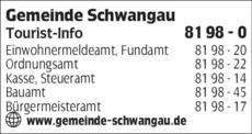 Anzeige Gemeinde Schwangau