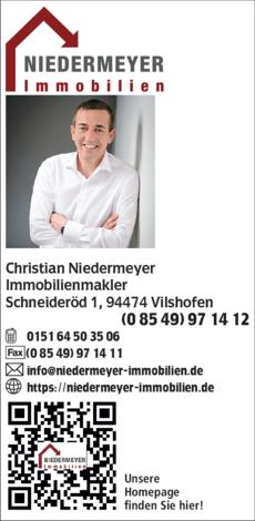Anzeige Immobilien Niedermeyer