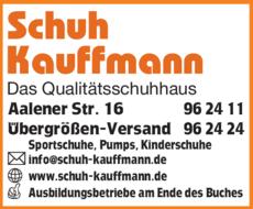 508c2eac6e7be4 Schuh-Kauffmann GmbH in Bopfingen ⇒ in Das Örtliche