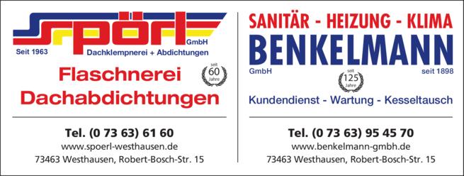 Anzeige Benkelmann GmbH