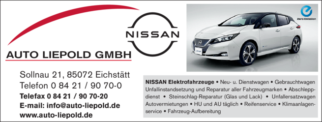 Anzeige Auto Liepold GmbH