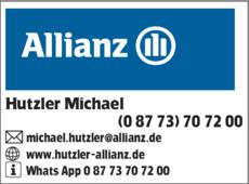 Anzeige Allianz Hutzler
