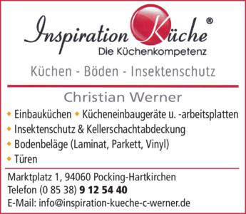Anzeige Werner Christian