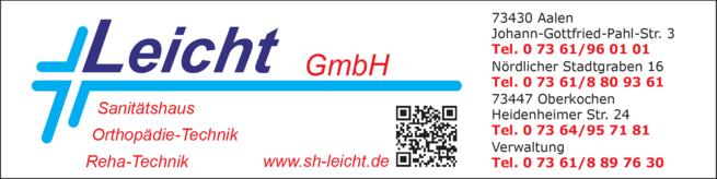 Anzeige Leicht GmbH