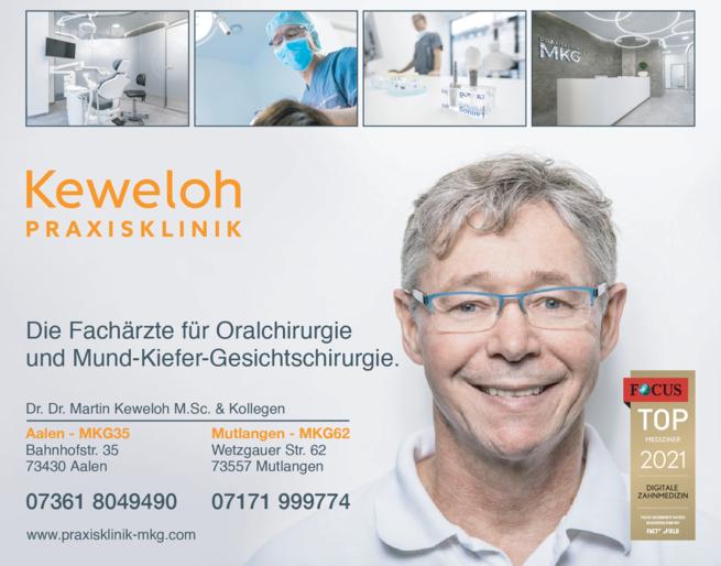 Anzeige Keweloh Martin Dr.Dr. M. Sc. & Kollegen