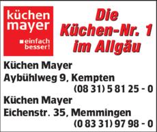 Kuchen Mayer In Kempten In Das Ortliche