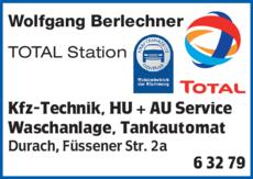 Anzeige Auto Berlechner
