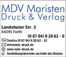 Mdv Maristen Druck U Verlag Gmbh In Furth In Das örtliche
