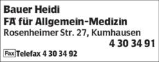 Anzeige Bauer Heidi