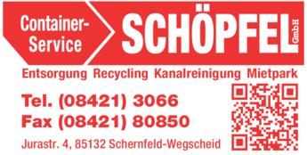 Anzeige Schöpfel GmbH