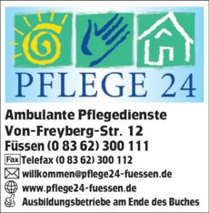 Anzeige Pflege 24