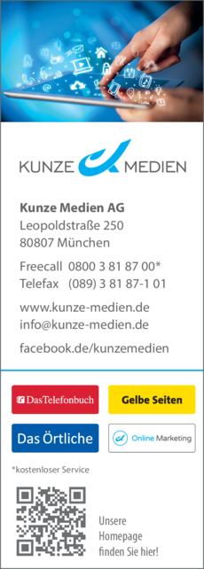 Anzeige Kunze Medien