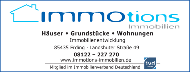 Anzeige Immobilien Immotions Immobilien