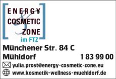 Anzeige energy cosmetic zone