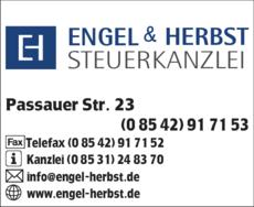 Anzeige Engel & Herbst Steuerkanzlei