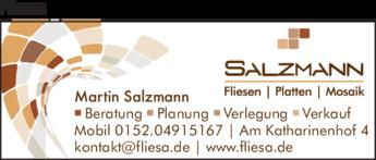 Anzeige Fliesen Salzmann