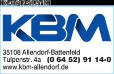 Anzeige Heizung KBM GmbH