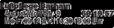 Anzeige Fußpflege Barham