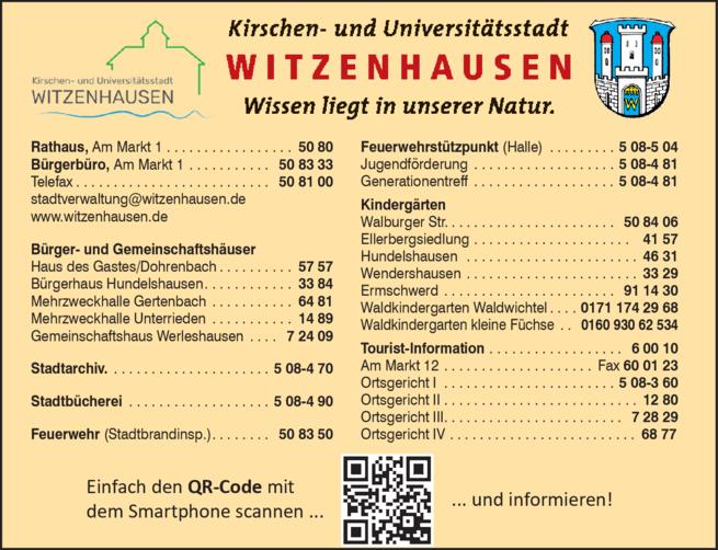 Anzeige Rathaus