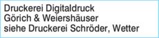 Anzeige Druckerei Digitaldruck Görich & Weiershäuser