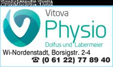 Anzeige Physiotherapie Praxis Nordenstadt dolfus & Labermeier
