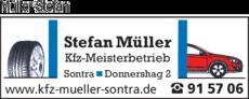 Anzeige Müller Stefan Kfz-Meisterbetrieb