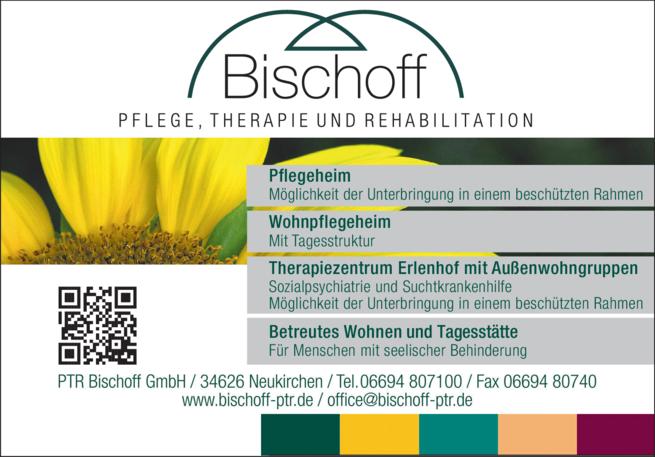 Anzeige Alten-, Kur- und Pflegeheim Bischoff
