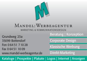 Anzeige Werbeagentur Mandel
