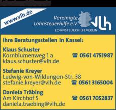 Anzeige Lohnsteuerhilfeverein Daniela Träbing