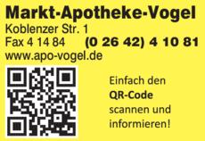 Anzeige Markt-Apotheke-Vogel