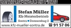 Anzeige Autoreparatur/-Werkstatt Müller Stefan