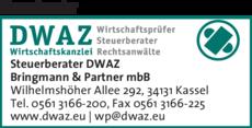 Anzeige Steuerberater DWAZ
