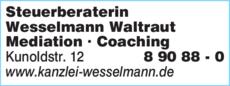 Anzeige Steuerberaterin Waltraud Wesselmann