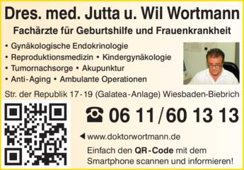 Anzeige Wortmann Wil u. Jutta Dres.med. Gynäkol.-Geburtsh.Praxis