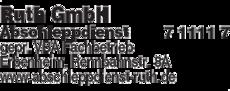 Anzeige Ruth GmbH Abschleppdienst