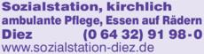 Anzeige Sozialstation, kirchlich ambulante Pflege