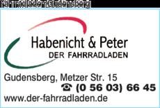 Anzeige Der Fahrradladen Gudensberg Habenicht & Peter