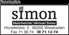 Malerbetrieb Wiesbaden malerbetrieb simon michael in wiesbaden in das örtliche