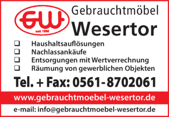 Gebrauchtmöbel Wesertor In Kassel In Das örtliche