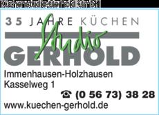 Anzeige Küchen & Bäder Studio Gerhold
