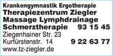 Anzeige Krankengymnastik Heike Ziegler