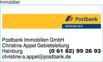Immobilien Postbank Immobilien GmbH in Hainburg ⇒ in Das ...