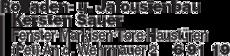 Anzeige Rolladen- u. Jalousienbau Kersten Sauer