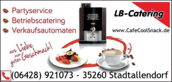 Anzeige Bachhuber Ludwig LB-Catering GmbH & Co. KG