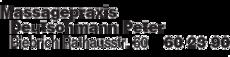 Anzeige Massagepraxis Deutschmann Peter