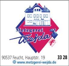 Anzeige Metzgerei Wejda