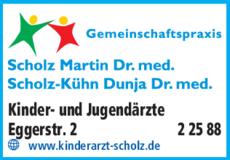 Anzeige Scholz Martin Dr.med.