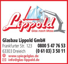 Anzeige Glasbau Lippold GmbH